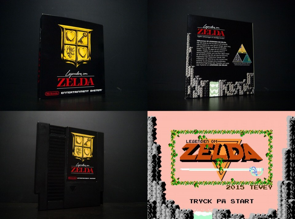 Legenden om Zelda project finished