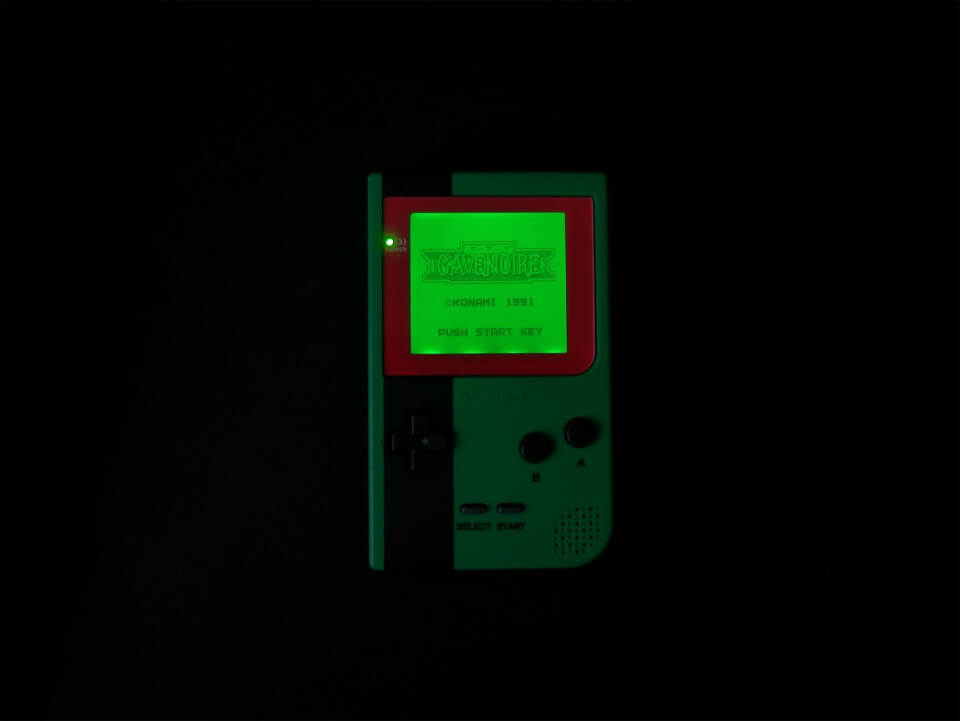 Game Boy Pocket backlight mod