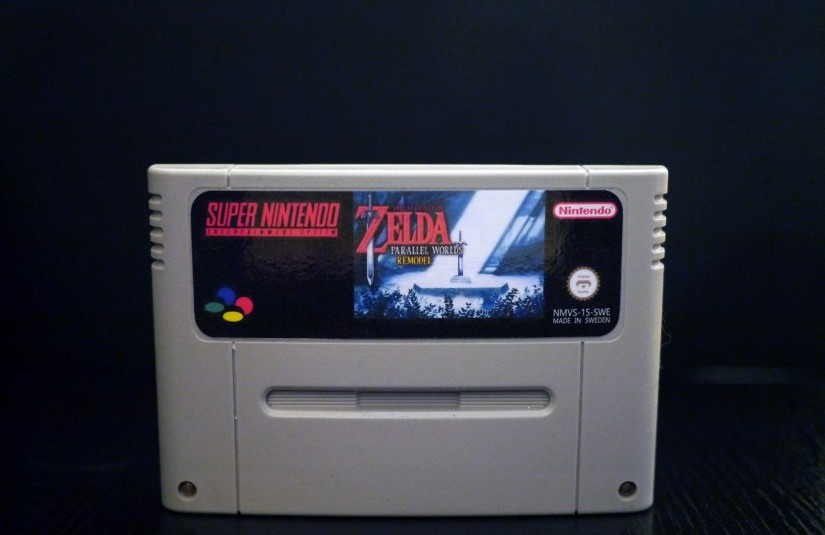 Photo of The Legend Of Zelda: Parallel Worlds Remodel (Repro)