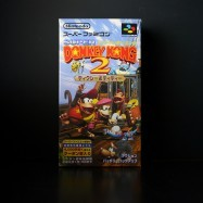 Donkey Kong Country 2: Diddy's Kong Quest front