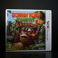 Donkey Kong Country Returns 3D front