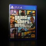 Grand Theft Auto V front